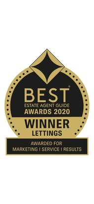 Best Estate Agent Guide Awards Lettings 2020 - Gibbs Gillespie