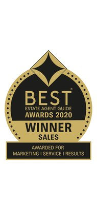 Best Estate Agent Guide Awards Sales 2020  - Gibbs Gillespie