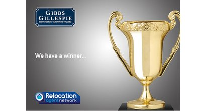Gibbs Gillespie is named Best Agent in Greater London - Gibbs Gillespie
