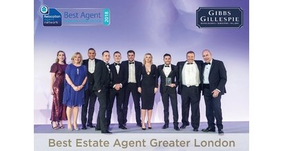 Gibbs Gillespie is named Best Estate Agent in Greater London - Gibbs Gillespie